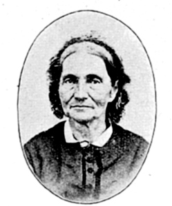 Jane Williamson was forty years old when she arrived at the Lac qui Parle mission. This photograph was probably taken about ten years later.