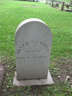 Mary died on March 29, 1869, at the age of 55. She is buried in the Beloit Cemetery.