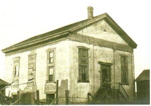 The Presbyterian Church at Traverse des Sioux was built in 1858. Jonas opposed the extravagance but he'd already given them $50 and deeded them 20 acres of his own land to help pay the church's debt.