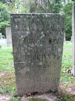 Little Nancy's tombstone in the Red Oak Presbyterian Cemetery in Brown County, Ohio, identifies her parents as Missionaries to the Dakota.