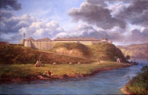 Jane arrived at Fort Snelling on May 7, 1843. Construction on the fort began in 1817. In 2016, the Minnesota Historical Society is planning a major renovation of the entire area, which has been open as a historic site since the 1950s.