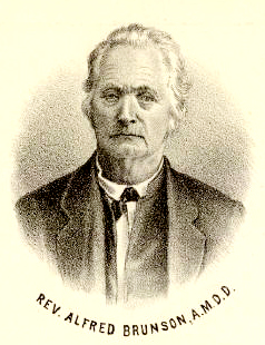 Rev. Alfred Brunson was the first Methodist missionary at Kaposia. He established the mission and school there in May of 1837.