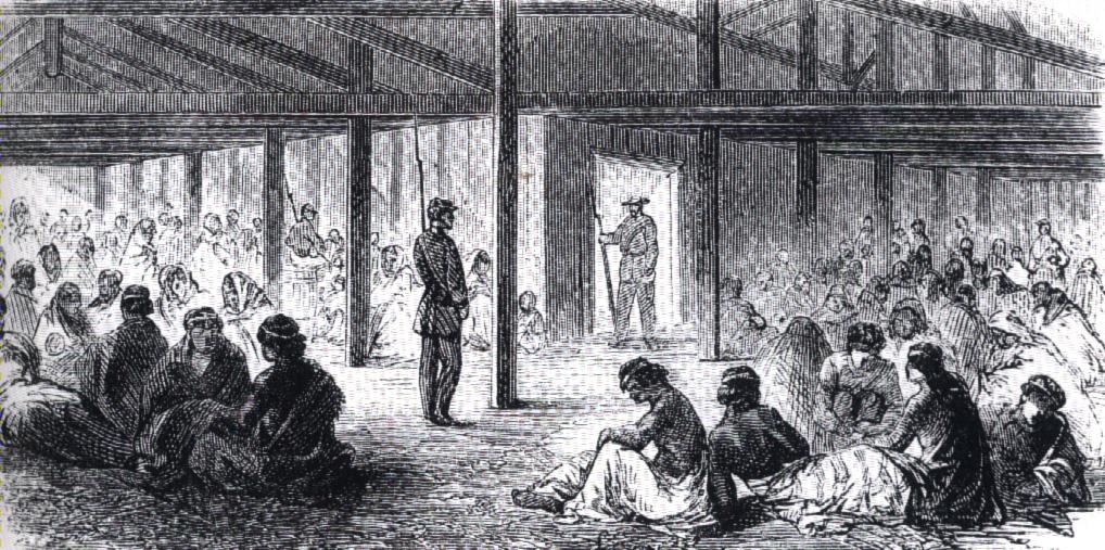 Prison at Mankato.old