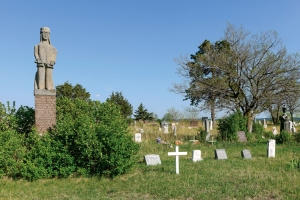 Greenwood Cemetery with Struck by the Ree