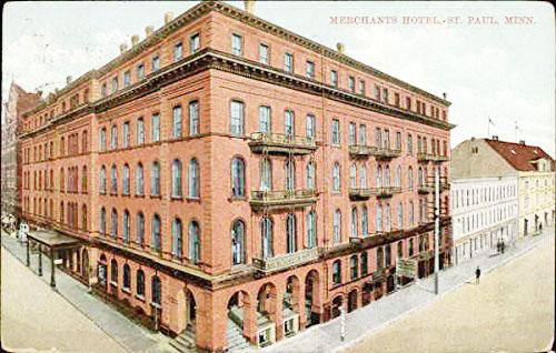 Merchants Hotel St. Paul