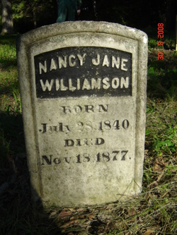 Nancy Jane Tombstone